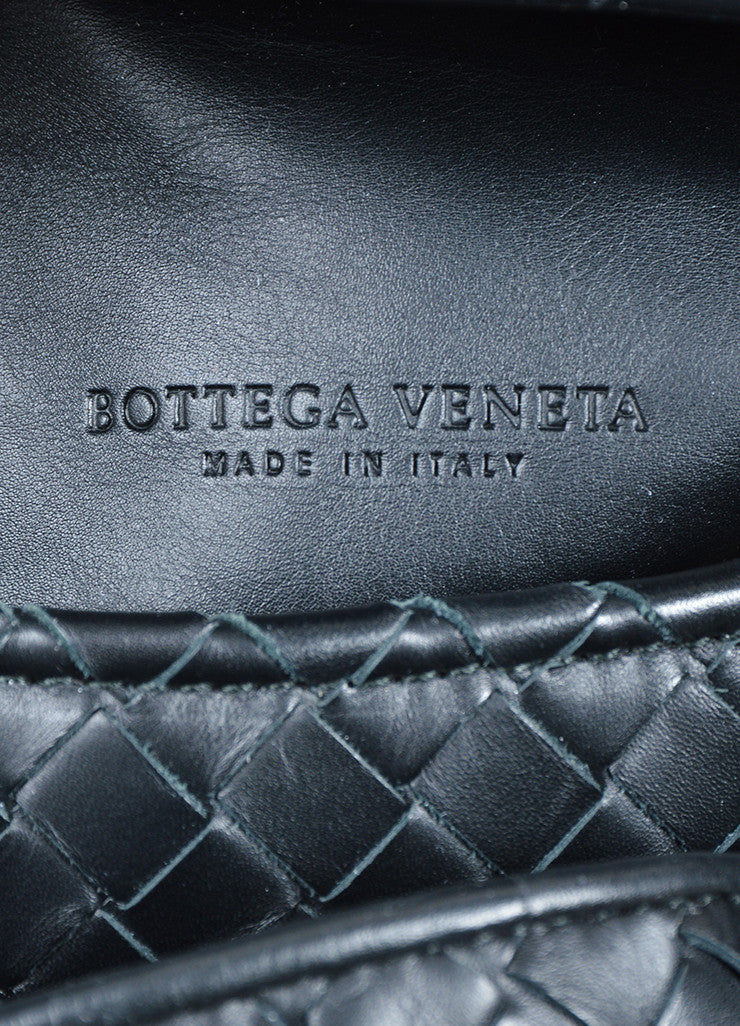 Bottega Veneta Sloane Intrecciato Black Woven Nappa Leather Hobo Bag Brand