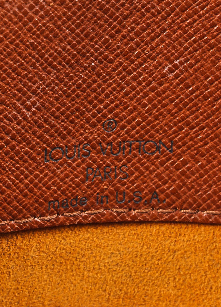 "Louis Vuitton Brown Monogram Coated Canvas ""Musette Tango"" Shoulder Bag Brand"