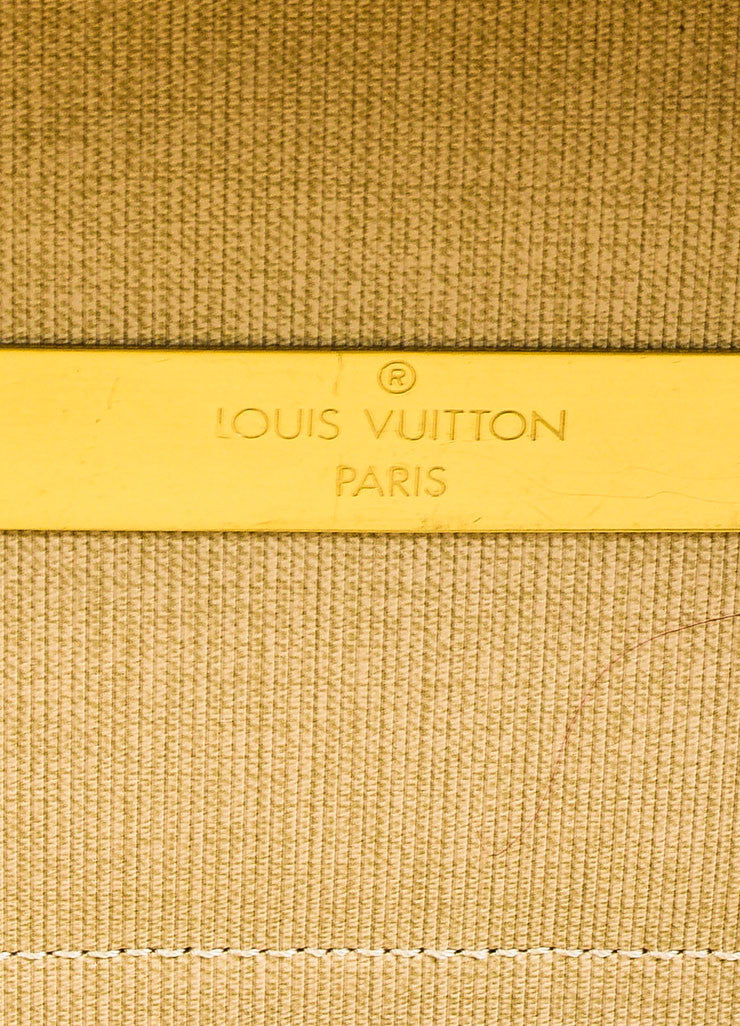 "Louis Vuitton Brown Coated Canvas Leather Monogram ""Pullman"" Travel Suitcase Bag Brand 2"