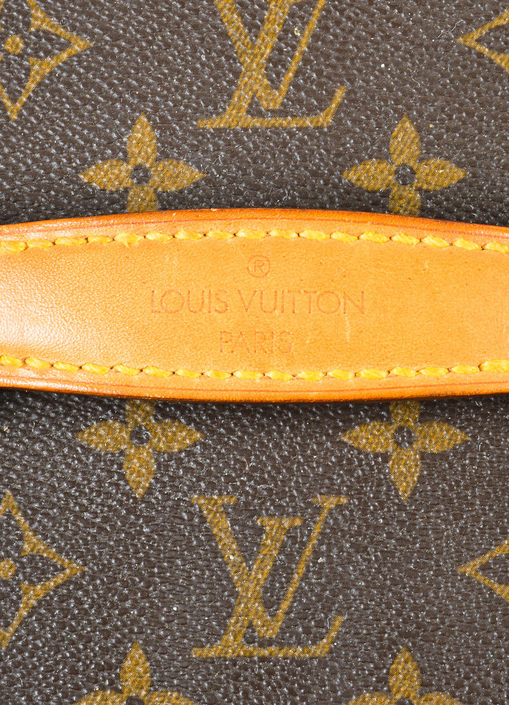 "Louis Vuitton Monogram Canvas ""Boite Bouteilles"" Hardshell Case With Mirror brand"