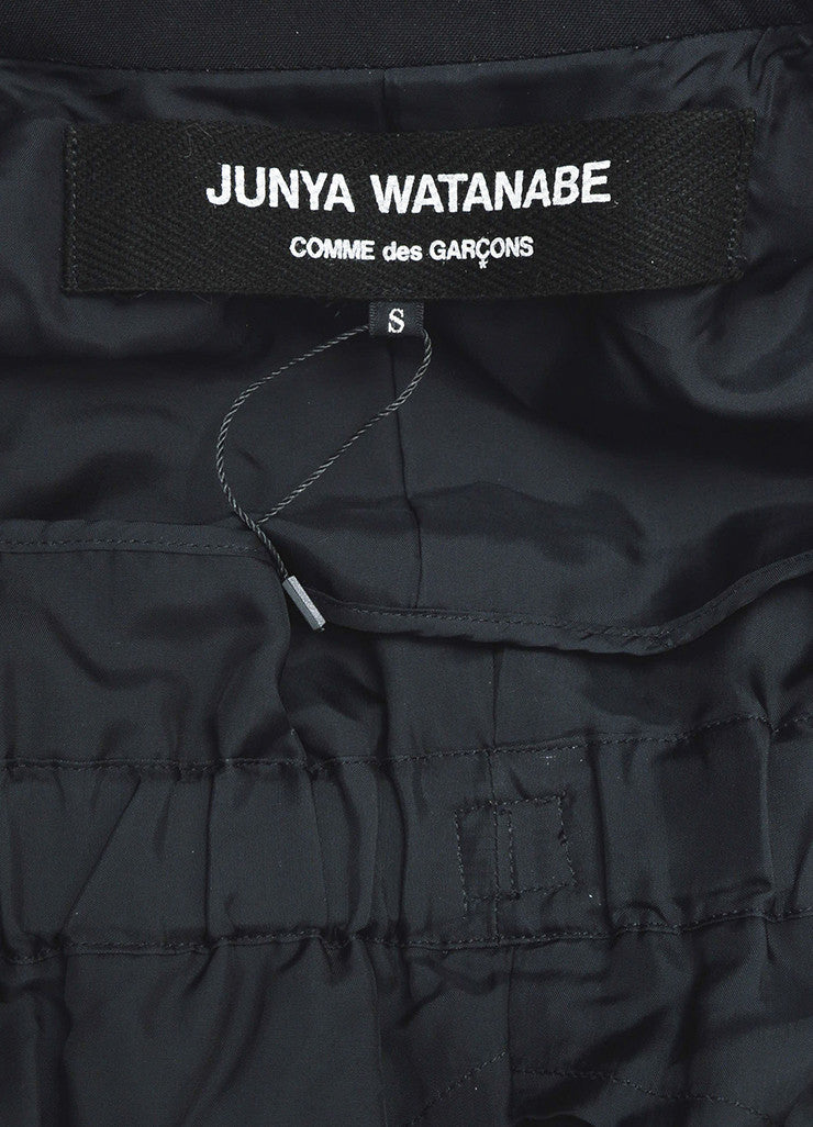 Junya Watanabe Comme Des Garcons Black Buckle Strap Harness Jacket Brand