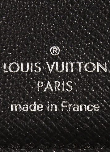 "Louis Vuitton Black Electric Patent Epi Leather Textured ""Joey"" Wallet Brand"