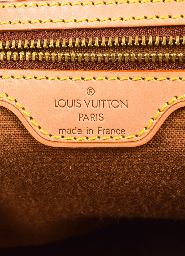 "¥éËLouis Vuitton x Azzedine Alaia Brown Coated Canvas Leopard Pony Hair ""Alma"" Bag Brand"