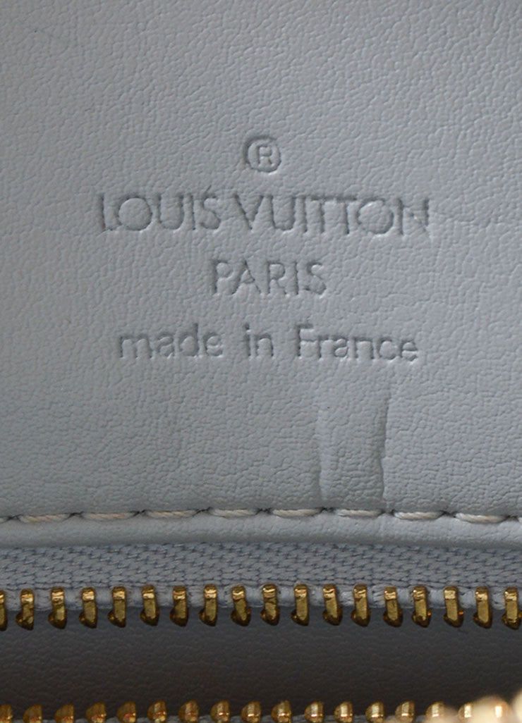 Louis Vuitton Pale Green Patent Leather Monogram Tote Brand