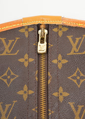 Brown Louis Vuitton Coated Canvas Garment Bag Detail 2