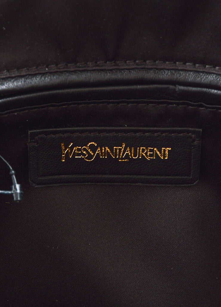 "Yves Saint Laurent Cream ""Muse"" Shoulder Bag Brand"