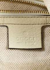 "Gucci ""Mystic White"" Pebbled ""Soho Leather Chain Hobo"" Bag Brand"
