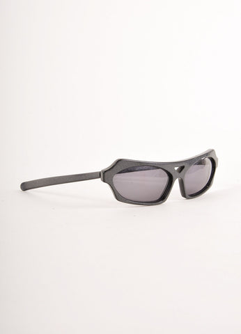 Black and Grey Anne Marie Beretta Printed Sunglasses