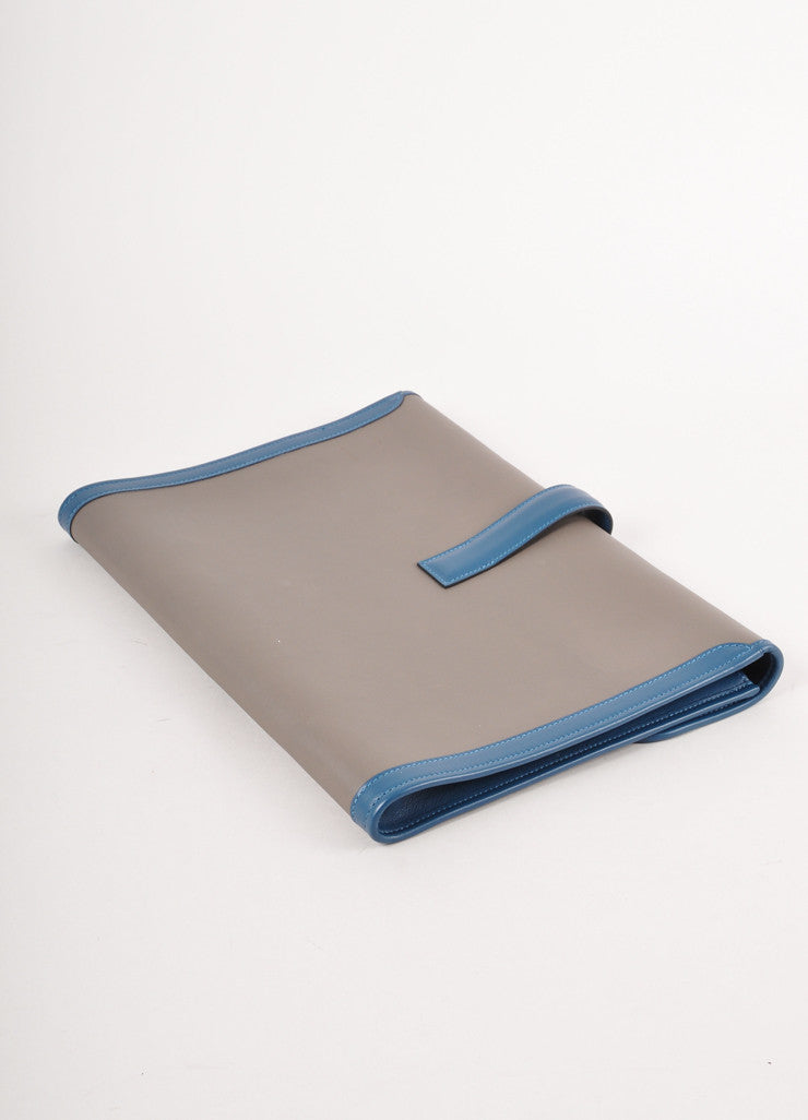 "New In Box Leather ""Jige GM"" Envelope Clutch"