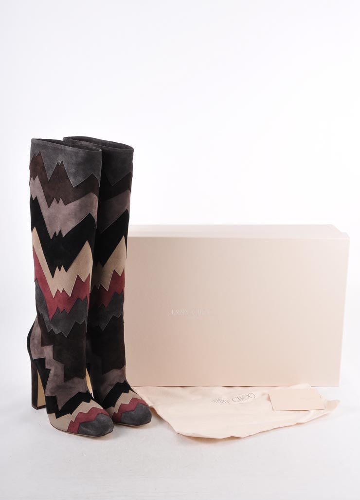 "New In Box Suede ""Divina"" Knee High Boots"