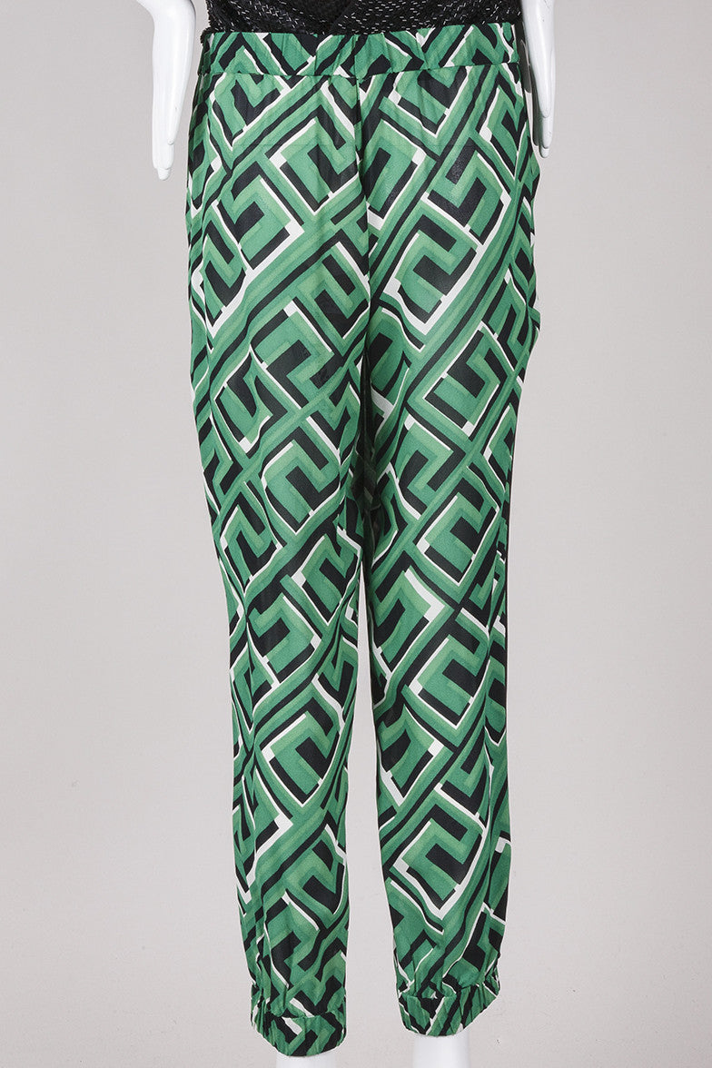 New With Tags Geometric Print Pants
