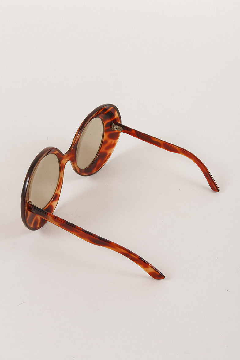 Vintage Oversized Tortoise Shell Glasses