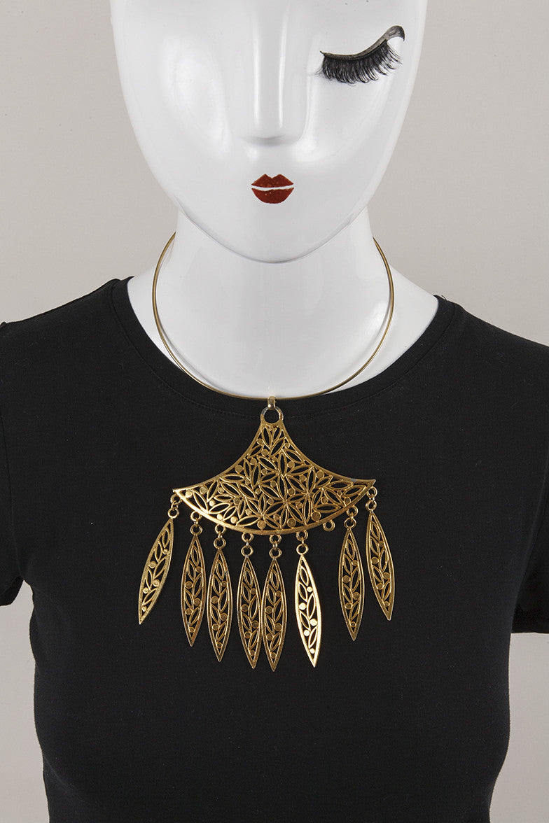 Choker with Large Pendant