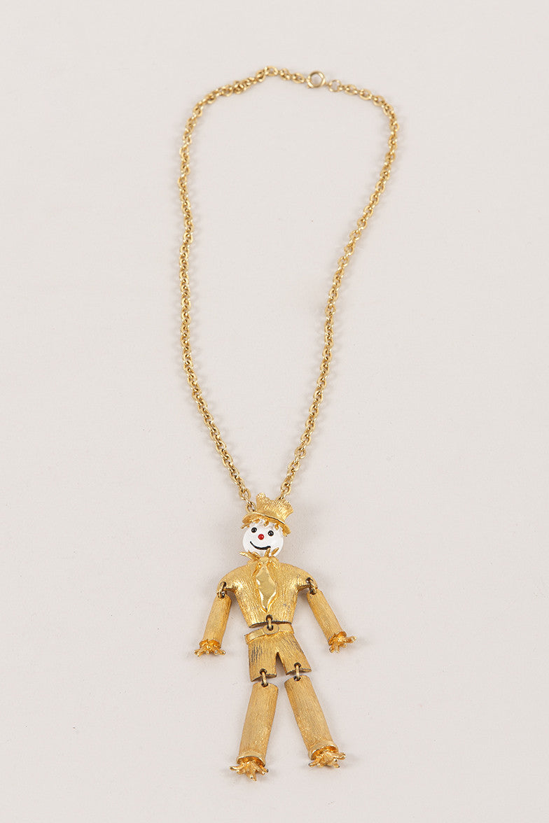 Scarecrow Necklace