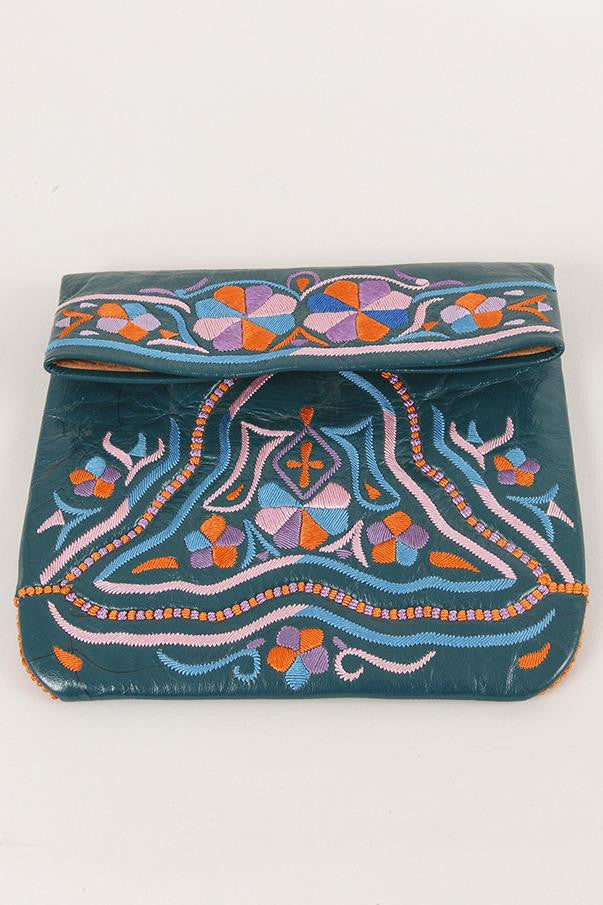 Moroccan Embroidered Clutch