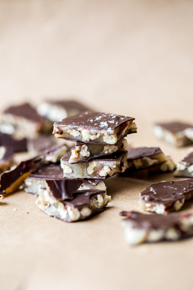 Salted Brown Butter Pecan Brittle 1