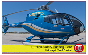 EC120B Safety Card