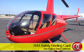 R44 Safety Card