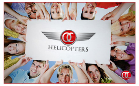 e-Wallet Gift Cards $100 - $500 - OC Helicopters
