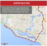 Newport Beach Tour - Private for 2 - Gift Card