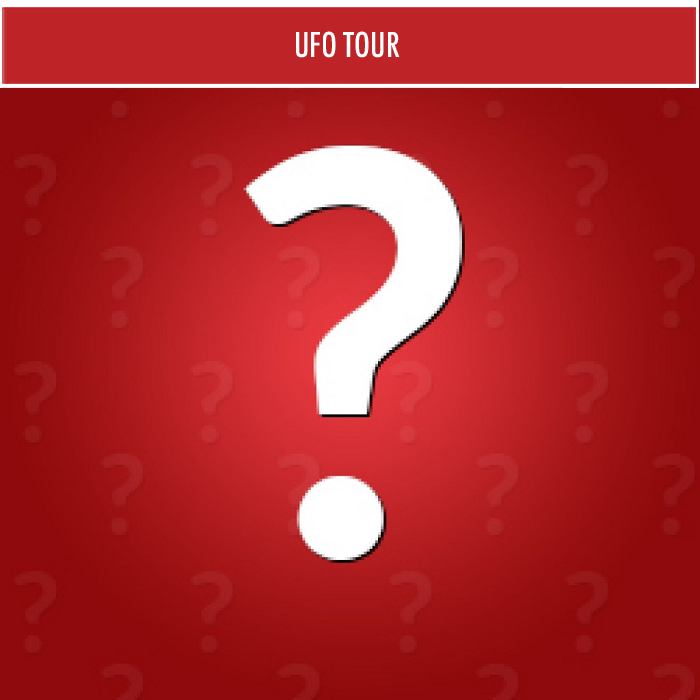 UFO Tour - Private for 2 - Gift Card