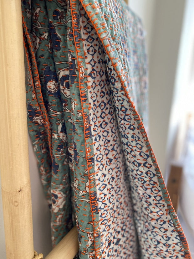 Laleh Kantha Throw