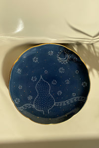 Starry Night Dinner Plate