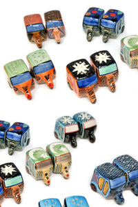 Rickshaw Salt And Pepper Shakers
