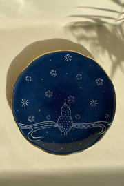 Starry Night Side Plate