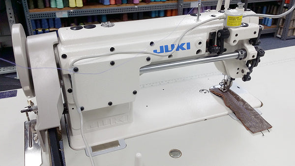 JUKI DU-1181N Top and Bottom Feed Leather Sewing Machine