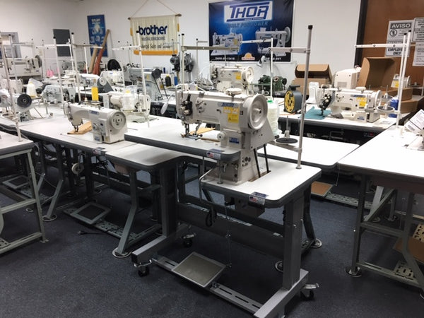 THOR GC1341 Cylinder Arm Walking Foot Sewing Machine