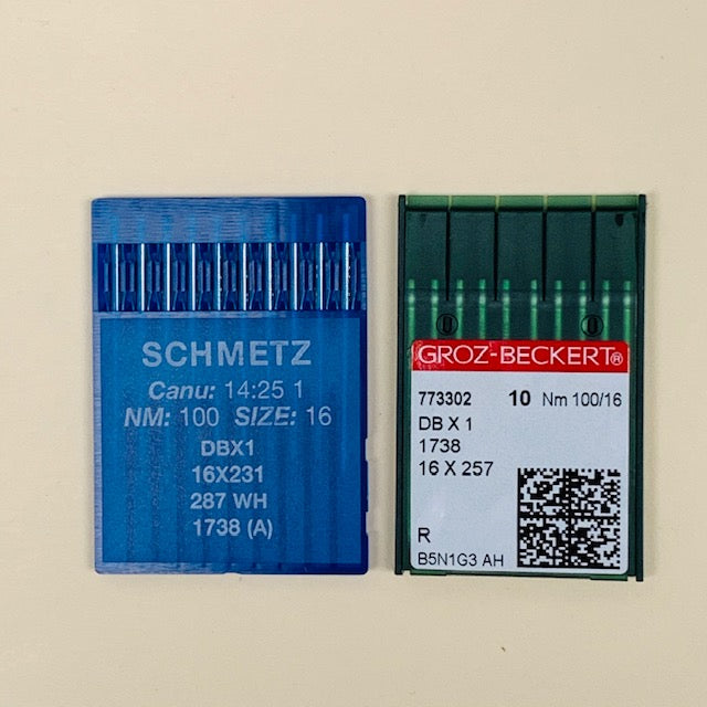 16x257 Needles DBx1 16x231 For 8700, 8100e, 8500, 8300, 5550