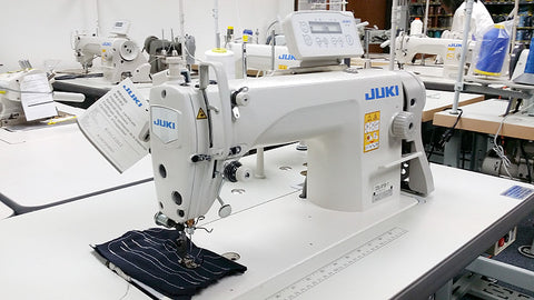 Juki DDL-8700-7 Automatic Single Needle Straight Stitch Sewing Machine