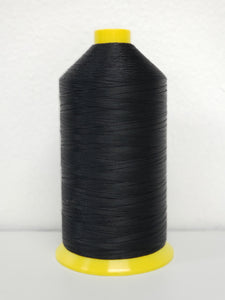 Amann Strongbond Bonded Nylon Thread T-70 Black 16 oz. Cone - #4000