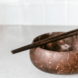 Wooden Buddha Chopsticks Pair