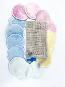 Bamboo Makeup Pads 14 Pack - Ecophant