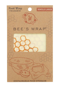 Beeswax Food Single Wrap (Size Large) - Ecophant
