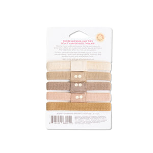 Organic Hair Ties Blond