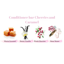 Load image into Gallery viewer, Zero Waste Conditioner Bar (Cherries and Caramel)