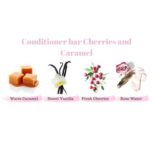 Zero Waste Conditioner Bar (Cherries and Caramel)