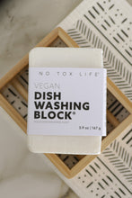 Load image into Gallery viewer, Dish Block® Zero Waste Dish Washing Bar - Free of Dyes and Fragrance