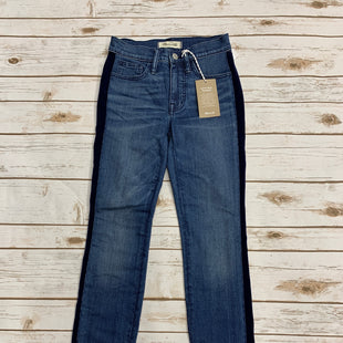 Primary Photo - BRAND: MADEWELL STYLE: JEANS COLOR: DENIM BLUE SIZE: 0 SKU: 220-22012-34091