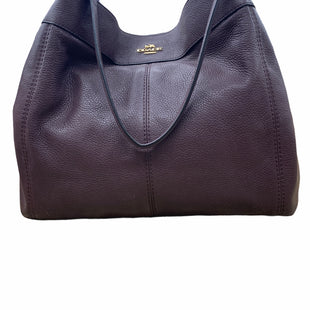 Primary Photo - BRAND: COACH STYLE: HANDBAG DESIGNER COLOR: PLUM SIZE: MEDIUM SKU: 220-22095-12323