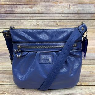 Primary Photo - BRAND: COACH STYLE: HANDBAG DESIGNER COLOR: PERIWINKLE SIZE: MEDIUM SKU: 220-220138-24073