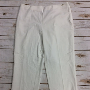 Primary Photo - BRAND: ST JOHN COLLECTION STYLE: PANTS COLOR: WHITE SIZE: 12 SKU: 220-22012-34112