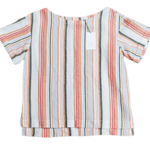 Primary Photo - BRAND: A NEW DAY STYLE: TOP SHORT SLEEVE COLOR: STRIPED SIZE: S SKU: 220-220160-323