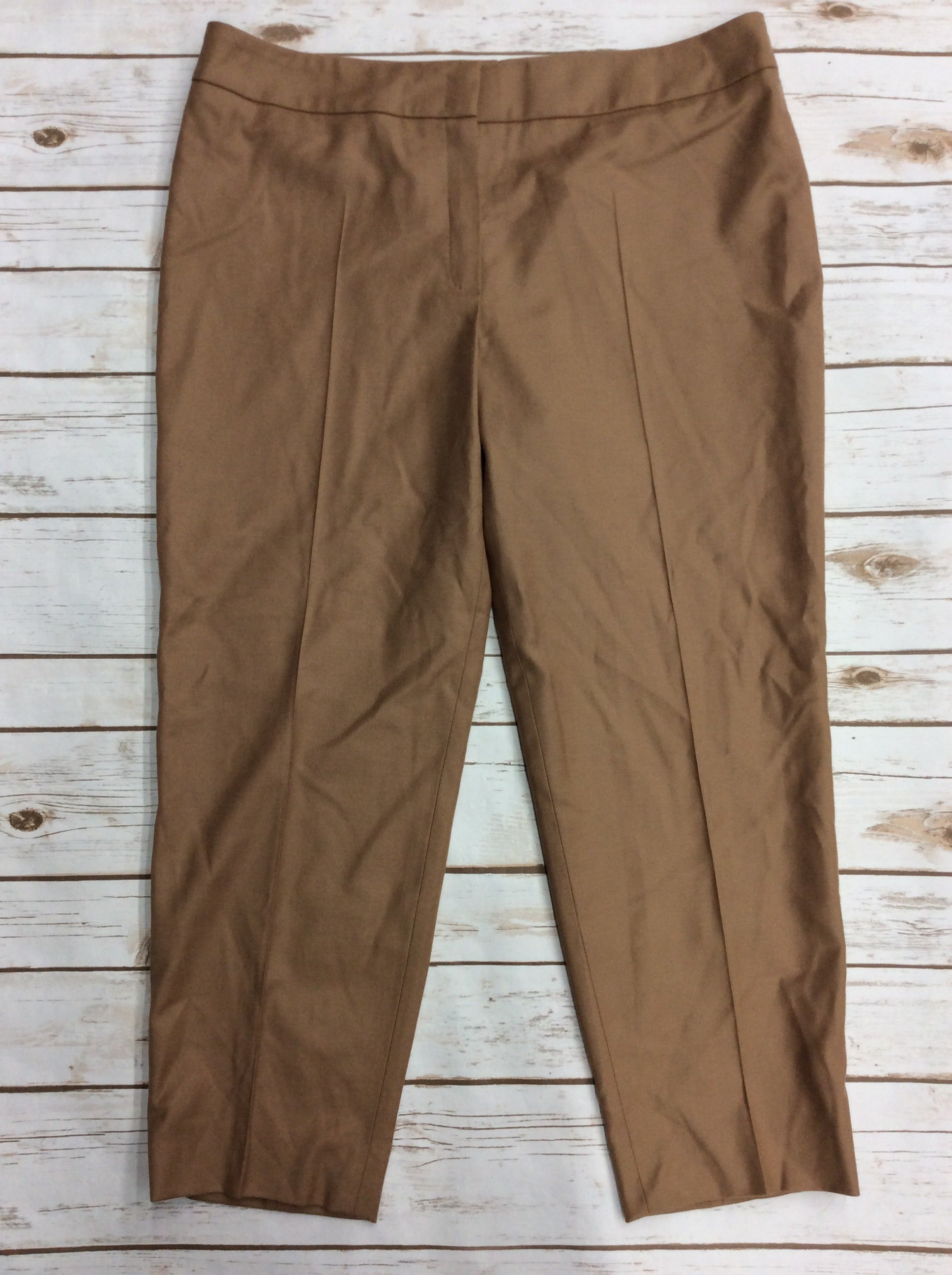 Primary Photo - BRAND: ESCADA <BR>STYLE: PANTS <BR>COLOR: CAMEL <BR>SIZE: 12 <BR>SKU: 220-22012-34113