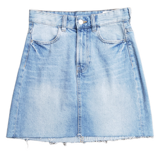 Primary Photo - BRAND: H&M STYLE: SKIRT COLOR: DENIM SIZE: 2 SKU: 220-22090-5531
