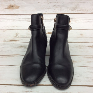 Primary Photo - BRAND: COACH STYLE: BOOTS ANKLE COLOR: BLACK SIZE: 6.5 OTHER INFO: AS IS SKU: 220-220153-4536