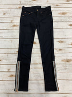 Primary Photo - BRAND: RAG & BONES JEANS <BR>STYLE: JEANS <BR>COLOR: BLACK DENIM <BR>SIZE: 2 <BR>SKU: 220-22012-34116
